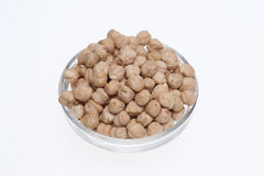 Cickpeas a kind of legume Royalty Free Stock Image