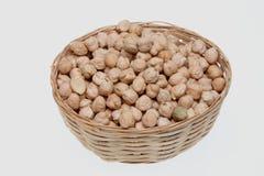 Cickpeas a kind of legume Stock Photography