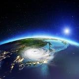 Ciclón de Japón y de Corea representación 3d libre illustration