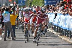 Ciclagem - campeonatos 2009 do mundo da estrada de UCI Fotografia de Stock