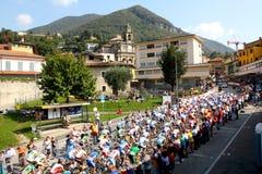 Ciclagem - campeonatos 2009 do mundo da estrada de UCI Fotografia de Stock Royalty Free