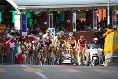 Ciclagem - campeonatos 2009 do mundo da estrada de UCI Foto de Stock Royalty Free