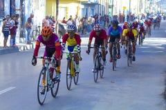 Ciclagem de volta a Cuba Imagens de Stock