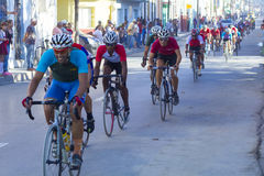 Ciclagem de volta a Cuba Fotos de Stock