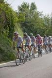 Ciclando, postagiro D'Italia 2009 Immagine Stock