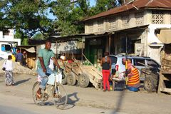 ciclare mombasa Immagini Stock