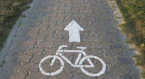 Cicle-Weg Lizenzfreie Stockfotos