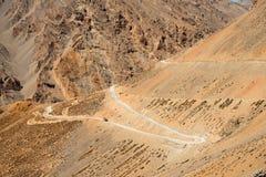 Cicli della strada in Himalaya Fotografia Stock