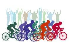 Cicli la corsa Immagine Stock
