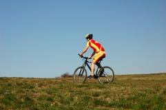 Ciclismo fotografie stock