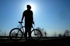 Ciclismo immagini stock