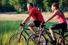 Ciclismo Foto de archivo libre de regalías