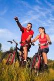 Ciclismo Imagen de archivo libre de regalías