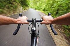 Ciclismo da estrada Foto de Stock