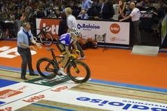 Ciclismo da partida Fotos de Stock