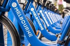 Ciclismo de Melbourne Imagem de Stock Royalty Free