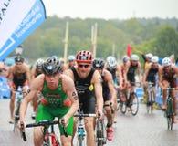 Ciclismo de Murphy e de Buchholz Fotos de Stock Royalty Free