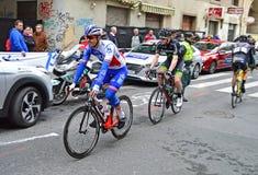 Ciclismo en ruta del ciclo Fotografía de archivo libre de regalías