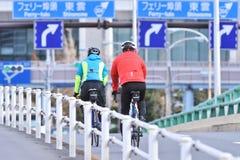 Ciclismo rápido do ciclismo Fotografia de Stock Royalty Free