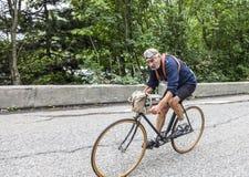 Ciclismo retro Imagem de Stock Royalty Free