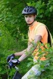 Ciclist fotografia royalty free