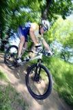 Ciclista Foto de archivo libre de regalías