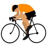 Ciclista illustrazione vettoriale
