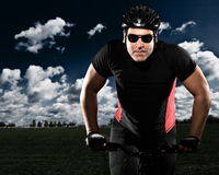 Ciclista Immagini Stock