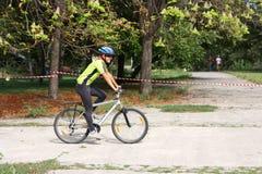 Ciclista fotografie stock libere da diritti