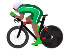 Ciclista Fotografía de archivo libre de regalías