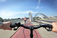 Ciclista Foto de Stock