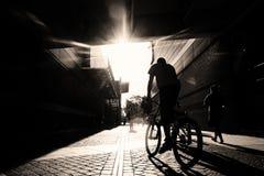Ciclista Imágenes de archivo libres de regalías