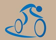 Ciclista Fotografía de archivo