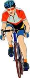 Ciclista Imagen de archivo libre de regalías