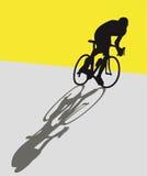 Ciclista Fotografia de Stock Royalty Free
