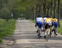Ciclista Fotografia de Stock