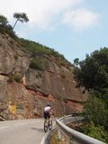 Ciclista stock foto's