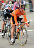 Ciclista Alan Pérez Lezaun de Euskaltel Euskadi Foto de Stock Royalty Free