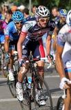 Ciclista australiano Adam Hansen do lotto-Belisol Fotografia de Stock Royalty Free