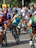 Ciclista belga Kevin Seeldraeyers de Astana Foto de archivo libre de regalías