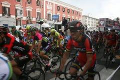Ciclista de Evans Fotos de Stock
