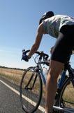 Ciclista del camino Foto de archivo libre de regalías