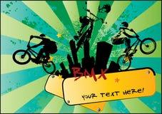 Ciclista di BMX Fotografia Stock Libera da Diritti