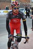 Ciclista Dmytriy Muravyev Imagen de archivo