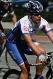 Ciclista ispanico Fotografia Stock Libera da Diritti