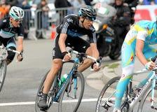 Ciclista Javier español Zandio del cielo de las personas Fotografía de archivo libre de regalías
