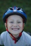 Ciclista joven Imagenes de archivo