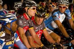Ciclista Lance Armstrong de U S Imagenes de archivo