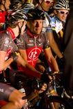 Ciclista Lance Armstrong di U S Fotografie Stock