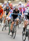 Ciclista Tom Danielson de Garmin Cervelo Imagen de archivo